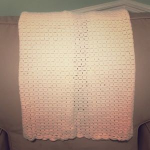 Other - Handmade knitted baby quilt